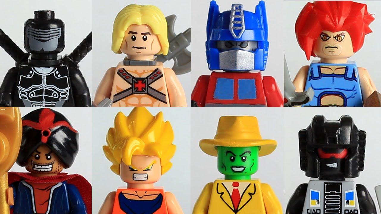 LEGO GI JOE (SNAKE EYES SHOOTOUT) - YouTube