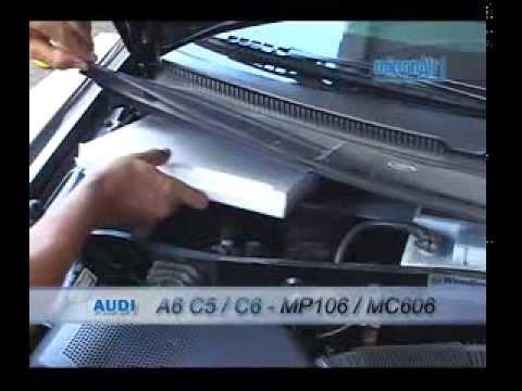 Malhaweb Audi Como Trocar O Filtro De Ar Condicionado