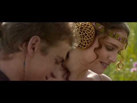 Jeff Wayne 'Forever Autumn'; George Lucas 'Star Wars 1-3' - Fan Music Video - My First Love Cut