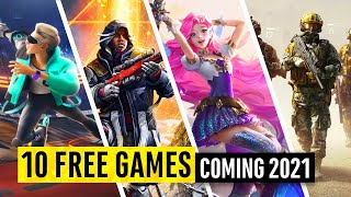 10 FREE games coming in 2021