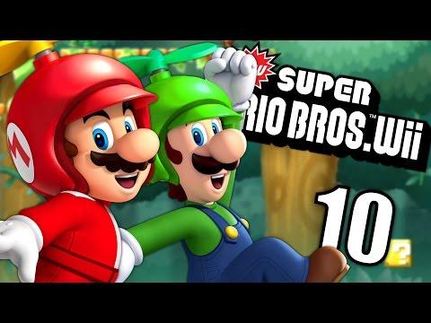 ON S'ENVOLE   NEW SUPER MARIO BROS WII COOP FR #10