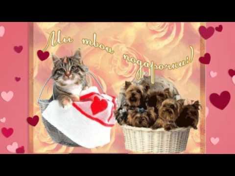 Рисуем открытки-валентинки за 15 минут!