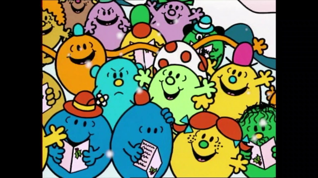 """Mr Men and Little Miss Sing Song """"We Wish You a Merry Christmas"""" - YouTube"""