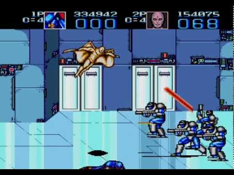 Captain America and The Avengers Sega Genesis 2 player game