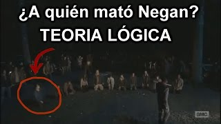 ¿A quién mató Negan? The Walking Dead Temporada 6 Episodio 16 (Final de temporada) (MGSeries)