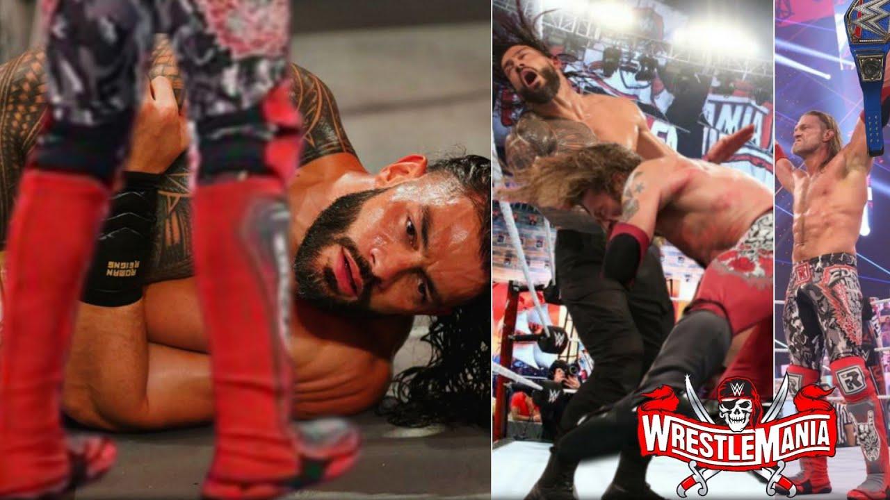 Roman Reigns Lost Universal Championship Tomorrow | WWE WrestleMania 37 -Night 2 Highlights & Result
