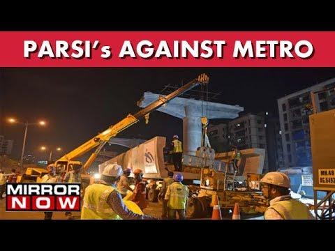 Parsi Community Protest Mumbai Metro Construction I The News