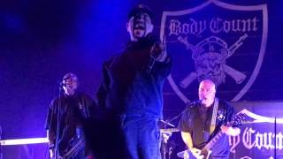 """""""Manslaughter"""" - Body Count (live in Melbourne 2/6/17)"""
