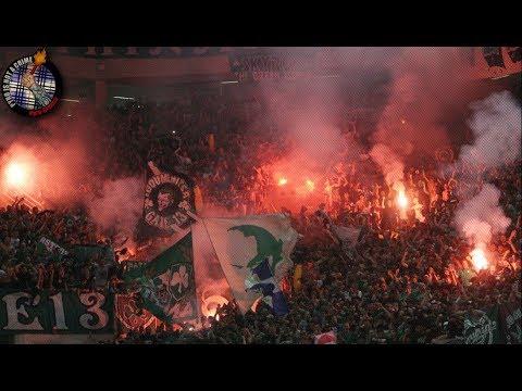 Panathinaikos – Olympiakos 17.06.18 // Pyro-Greece