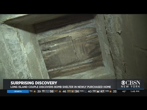 New Homeowners Find Bomb Shelter Under Their House