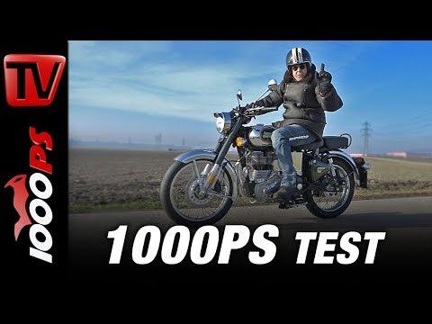 Royal Enfield Classic 500i Chrome Test - Neue 650er Twin  Enfields - Preise und Verfügbarkeit