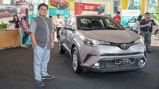 QUICK LOOK: Toyota C-HR In Malaysia - Exterior And Interior