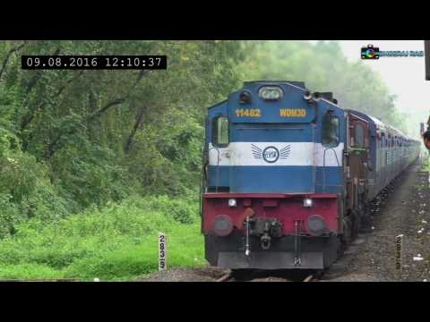 Konkan Railway End-to-End: Crossings All the Way!
