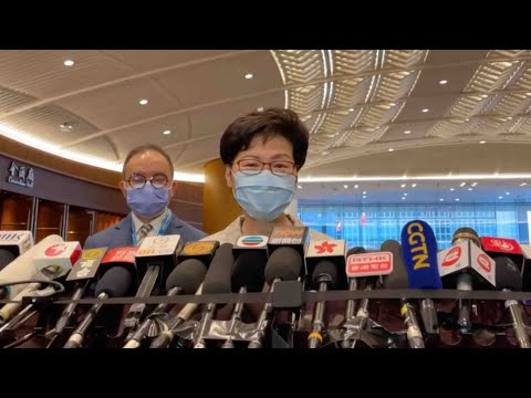 Carrie Lam says Hong Kong elections fair, impartial and open