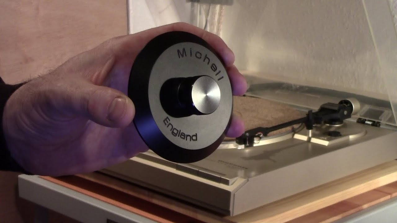 Turntable Update 11 Record Clamp Michell Engineering