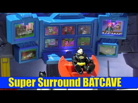 Super Surround BATCAVE From Fisher-Price Imaginext DC SuperFriends