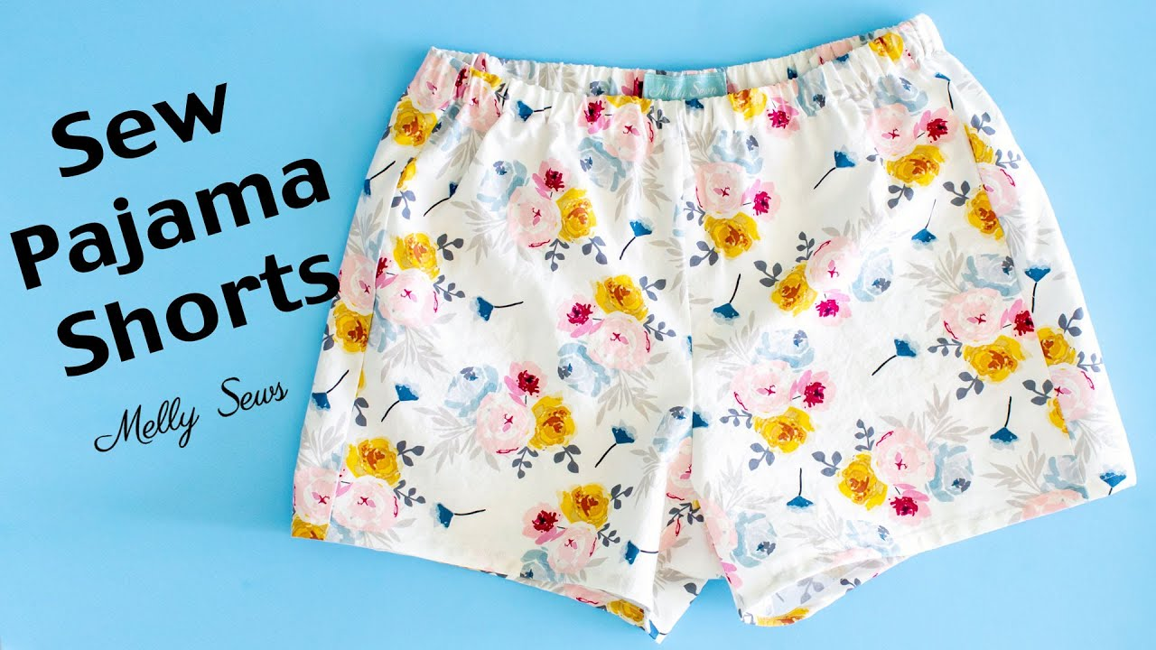 Download Learn to sew Pajama Shorts - Beginner Sewing Project