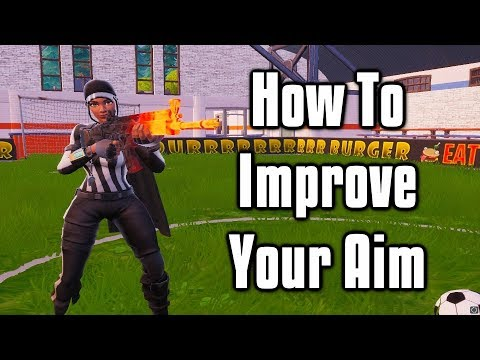 How To Improve Your Fortnite Aim - Shotgun & Tracking Aim Tips and Courses (PC + Console + Mobile)