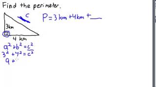 Finding the Perimeter oḟ a Triangle