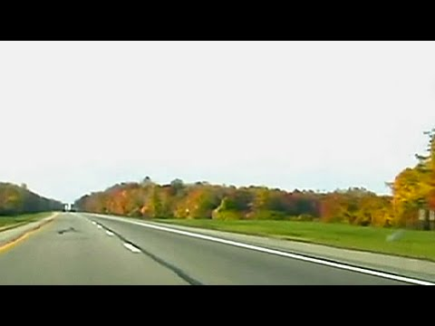 Driving Interstate 90, Buffalo to Erie, PA - State of New York