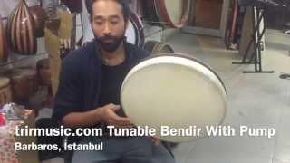 tunable bendir with pump
