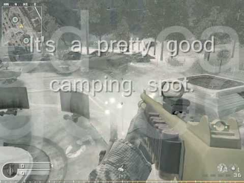 Cod4: Secret Areas/Glitch Spots: Countdown
