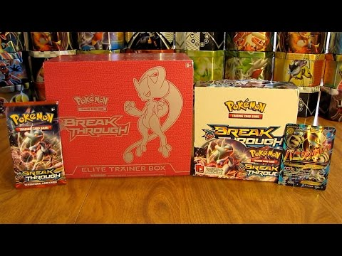 Pokemon TCG BREAKthrough Set Information and Review