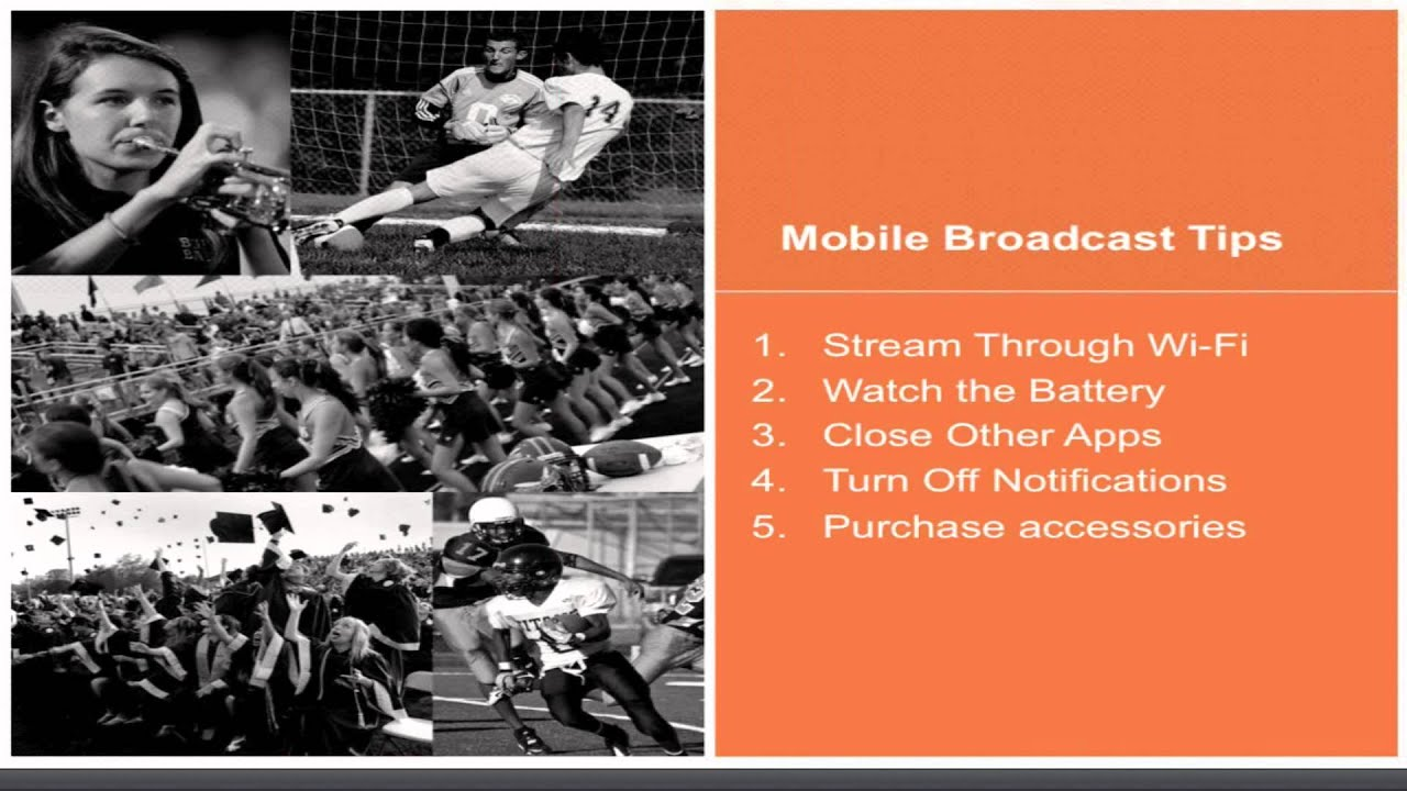 Worksheets Budget For Sports Events broadcast live sporting events like a pro on any budget tutorial tutorial