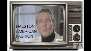 HALSTON - AMERICAN FASHION
