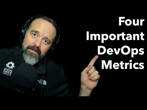 Tanzu Talk: Four Important DevOps Metrics