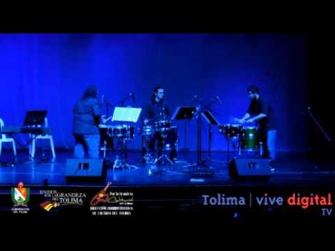 festival internacional de percusión - Teatro Tolima Ibague 2014