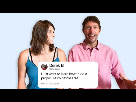 Travis & Lyn-Z Pastrana Answer Stunt Questions From Twitter | Tech Support | WIRED