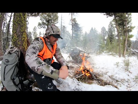 S:5 E:13 Hunting Mule Deer In The Snow In Idaho And Montana With Tim Burnett Of SOLO HNTR