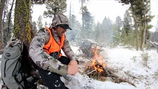 Solo Hunter 5.13 Chasing Mule Deer In The Snow In Idaho And Montana With Tim Burnett