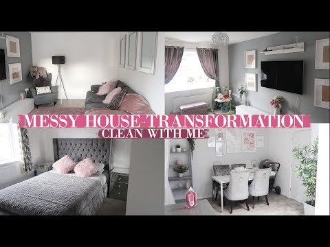 MESSY HOUSE TRANSFORMATION | BEFORE & AFTERS | CLEANING MOTIVATION 2019!