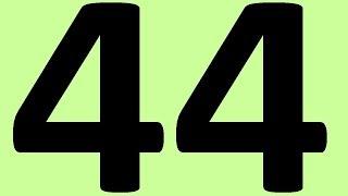 АНГЛИЙСКИЙ ЯЗЫК ДО АВТОМАТИЗМА ЧАСТЬ 2 УРОК 44 УРОКИ АНГЛИЙСКОГО ЯЗЫКА