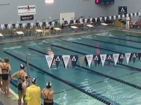 Benet academy vs oswego east girls swimming and diving october 9 2012 youtube for Deans high school swimming pool