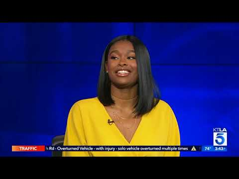 "Coco Jones talks about her new film ""Flock of Four"""