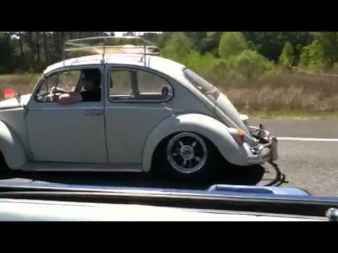 Rolling in my 65 VW Bug - YouTube