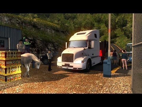 ETS2 | Colombia Volvo VNL 660 | Niebla Chinchina a Manizales