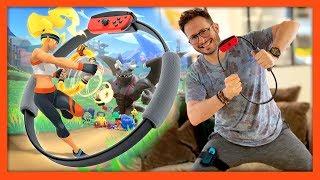 J39ai test RING FIT Adventure  mon avis en sueur  Nintendo Switch