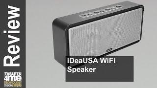 iDeaUSA WiFi Speaker, Bluetooth Speaker, MultiRoom Wireless Speaker Ultimate Entry Level Home