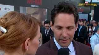 Paul Rudd On Ant-Man, Parkour, and Salted Chocolates