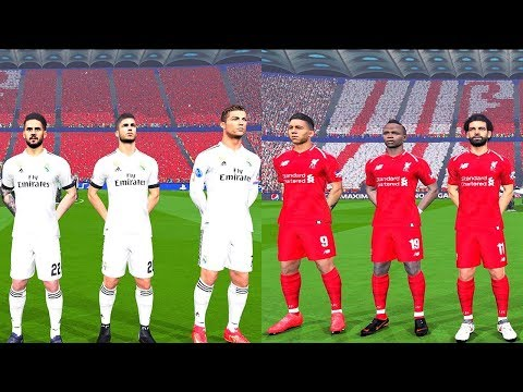Liverpool vs Real Madrid (NEW KITS) - Final UEFA Champions League 2018