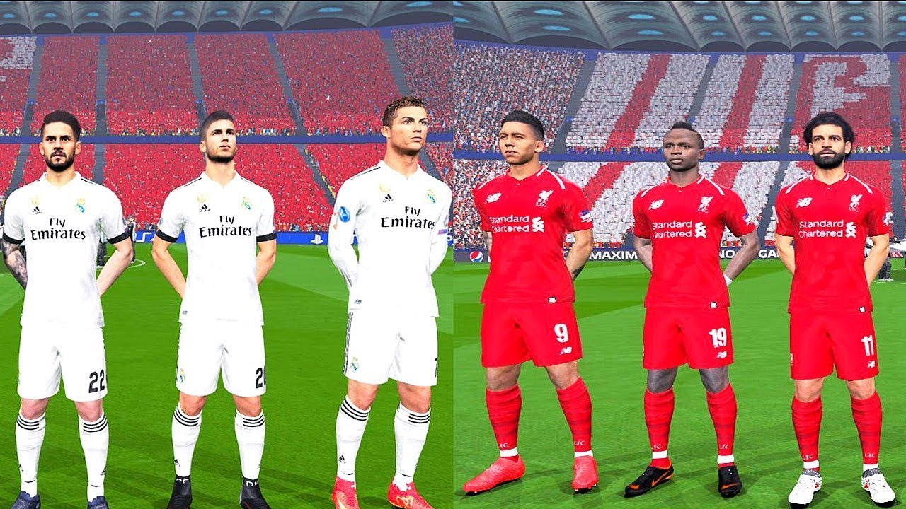 buy online 3432f 3bceb Liverpool vs Real Madrid (NEW KITS) - Final UEFA Champions League 2018