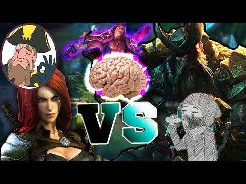 Tobias Fate - GANGPLANK VS KATARINA! I LOVE TARIC HES SO BIG | League of Legends