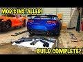 Rebuilding A Wrecked 2018 Camaro ZL1 Part 20