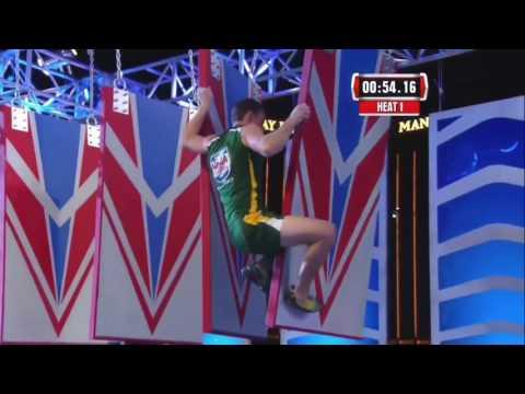American Ninja Warrior - United States vs. the World 2015 II Stage 3 Alexander Mars
