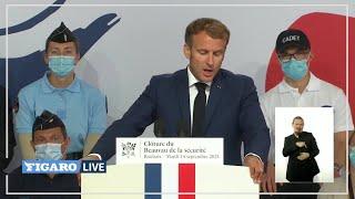 🔴 Emmanuel Macron veut DOUBLER le nombre de policiers sur la voie publique d'ici 10 ans