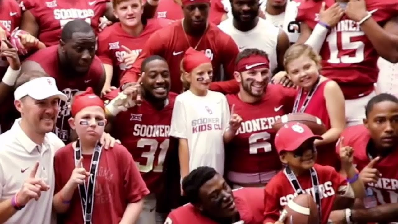 on sale a5c2d e2fec Baker Mayfield's inspiring bond with young girl who died from cancer | ESPN